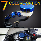 7 Color Universal Front Brake Fluid Oil Reservoir Fit For YZF GSXR 600 750