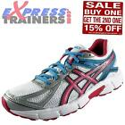 Asics Womens Patriot 7 Running Shoes Gym Fitness Trainers White *AUTHENTIC*
