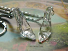 CINDERELLA'S GLASS SLIPPER CHARM KEYRING / NECKLACE / BRACELET DISNEY PRINCESS