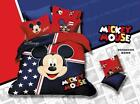 *** Mickey Mouse in US Queen Bed Quilt Cover Set - Flat or Fitted Sheet ***