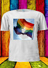 Rainbow Flag LGBT Gay Lesbian Proud T-shirt Vest Tank Top Men Women Unisex 157