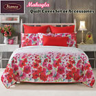Makayla Floral Quilt Cover Set or Accessorie SINGLE DOUBLE QUEEN KING Super King