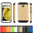 Hybrid Shockproof Rugged Armor Case Cover Skin For Motorola Moto E 2015 2nd GEN