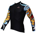 Long Sleeve Men's Cycling Jerseys Paladin Dog Arm Bike Bicycle Clothing Top