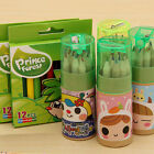 12 Colors Student Child Kids Art Drawing Tools Colored Pencils Stationery Gift