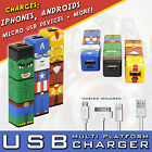 Captain America Battery Phone Charger For IPhone, Android HTC, Nokia + 2200mAh