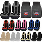 NHL Montreal Canadiens Rubber Floor Mat High Back Seat Cover Universal Combo $59.95 USD on eBay