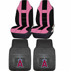 MLB Los Angeles Angels of Anaheim Rubber Floor Mat Seat Cover Universal Combo on Ebay