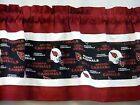 "Arizona Cardinals NFL Football Pieced Valance Curtain Choose:40"", 52"", 80"" x 13"""