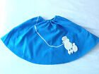 """Child Adult Full Felt Poodle Skirt 17"""" to 27"""" Long 50's Fifties Sockhop  PS1 PS2"""