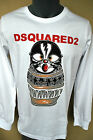Men's New LongSleeve T-Shirt Dsquared collor White ANY SIZE ! NEW COLLECTION !!!