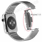 For Apple Watch Band Stainless Steel Link Bracelet Watchband 38mm 42mm + Tool
