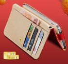 Samsung Galaxy Grand Prime G530 - HORIZONTAL Leather Card ID Wallet Pouch Case