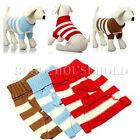 Dog Pet Warm Jumper Knit Sweater Clothes Puppy Cat Knitwear Coat Costume Apparel