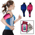 Neoprene Adjustable Sport Jogging Cycling Arm Band iPhone Zip Strap Cover Pouch