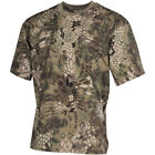 MFH HUNTING CAMOUFLAGE COTTON TOP MENS FISHING HIKING ARMY T-SHIRT SNAKE FG CAMO