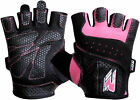 RDX Ladies Gel Gloves Fitness Gym Wear Weight Lifting Workout Training Cycling W