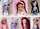 CUSTOM ORDER - Customized Monster High and Ever After High doll repaint reroot