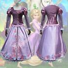 Women Rapunzel Outfit Fancy Dress Costume Princess Fairytale Tangled Cosplay New
