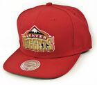 New Mitchell & Ness Snapback Denver Nuggets era hip hop Cap Solid Bordeaux NBA