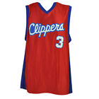 NBA Los Angeles Clippers Dazzle Jersey Chris Paul 3 Mens Adult LA Basketball Red on eBay