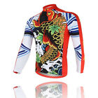 Carp Men's Cycling Clothing Long Sleeve Bike Bicycle Jerseys Sport Jacket Top