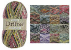 King Cole Drifter Double Knit Yarn Super Soft Acrylic Blend DK Wool 100g Ball