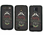 CHRISTMAS RUBBER CASE FOR SAMSUNG S4 S5 S6 EDGE NOTE 3 4 5 CHRISTMAS YALL