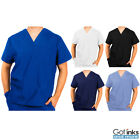 Kyпить Unisex Men/Women Natural Uniforms Medical Hospital Nursing Scrub V-Neck Top на еВаy.соm