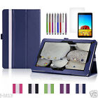 """Folio Leather Case Cover+Gift For 10.1"""" DigiLand DL1010Q Android Tablet DZD"""