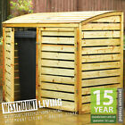 NEW Wooden Garden Wheelie Bin Store Triple Double Single Stores Pressure Treated