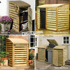 PRESSURE TREATED WOODEN WHEELIE BIN STORE