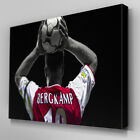 S268 Dennis Bergkamp Throw In 10 Canvas Art Ready to Hang Picture Print