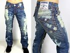 True Religion Men's Hand Picked Straight Super T Brand Jeans - MDE859UT2