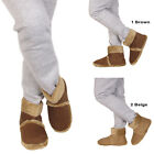 WOMENS FLAT FUR COLLAR SNUGG WINTER LADIES ANKLE BOOTS SHOES SIZE 3 4 5 6 7 8