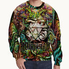 illuminati DMT DRUG Dark Psychedel Sweatshirt for Men