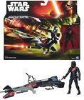 Figura y vehículo Star Wars EP VII Stormtrooper Bike assault walker hasbro