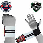 RDX Weight Lifting Wrist Training Gym Straps Support Grips Gloves Bodybuilding
