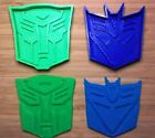 Transformers Cookie Cutters - Autobot, Decepticon - Choice of Sizes - 3D Printed