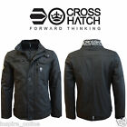 BRANDED MENS DOUBLE  LAYER WINTER COATED PADDED FUNNEL NECK JACKET COAT WARM