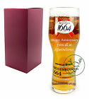 Personalised 1 Pint Kronenbourg 1664 Branded Lager Beer Glass Anniversary Gift