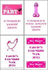 PERSONALISED HEN NIGHT PARTY BEER WINE BOTTLE LABELS