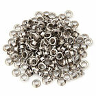 100 5mm Silver, Bronze, Black, White Eyelets with Washers Grommets Leather Craft