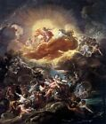 Classic Baroque Mythological Art Print Birth of the Sun & the Triumph of Bacchus