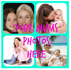 YOUR MUMS PHOTOS  PERSONALISED COASTERS - GREAT GIFT/ XMAS IDEAS - NEW