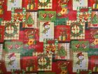 Christmas Print Vinyl PVC Tablecloth Wipe Clean Patio Oilcloth 140cm Wide