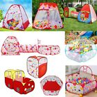 Childrens Pit Ball Pool Play House Kids Play Tents Indoor Outdoor various styles