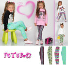Thick&Extra Warm Cotton Girls Full Length Leggings Nordic Designs Kidd Children