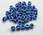 100Pcs Hamsa Hand EVIL EYE Kabbalah Luck Spacer Beads Fit Bracelet 4 5 6mm