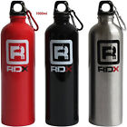 RDX Water Bottle Training Fitness Sports Gym Outdoor Aluminum Red Silver Black image